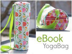 Nähanleitungen Taschen - EBook Yogatasche YogaBag Nähanleitung - ein…