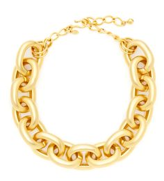 Kenneth Jay Lane Gold Chain Necklace