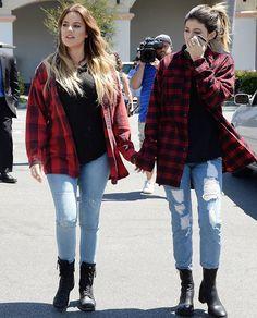 April 29, 2014 - Kylie Jenner & Khloe Kardashian shopping at Costco in LA