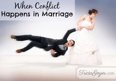 Why lack of conflict in a marriage should not be the goal.
