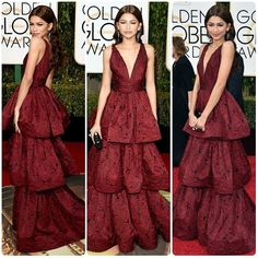 As We Begin The Countdown to The Golden Globes 2018 let's take a look at theBest Dressed celebrities over the years. #Zendaya in Maechesa #highheels #dress #skirt #boots #heels #fashionweek #fashion #style #celebrity #ootd #fashionista #black #streetstyle #stylish #model #leather #supermodel #lookbook #trend #hair #makeup#outfit #inspo #goals #stylish #goldenglobes #goldenglobes2018 - Global #Fashion Trends and Latest Styles - Celebrities and Popular Culture - #Shopping Inspiration for…
