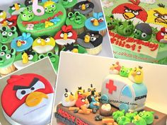 Angry Bird Cake Ideas