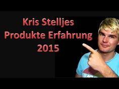 Kris Stelljes - Produkte Erfahrung 2015 Der Club der Internet Visionäre