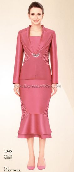 Womens Suits by Nina Massini for Fall 2014 - www.ExpressURWay.com, Womens Suits, Nina Massini, Fall 2014, Mother of the Bride, Evening Wear, Special Occasion, Shantung