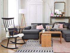 Deux tables basses comme un puzzle pour un salon original  - Quand la table basse est au centre de votre salon