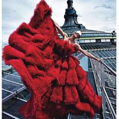 Fire & Ice. Mario Sorrenti for Paris Vogue