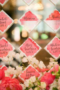 Place cards   Devon Rachel: Devon Rachel Wedding