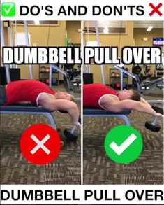 How to Dumbbbell Pull-Over