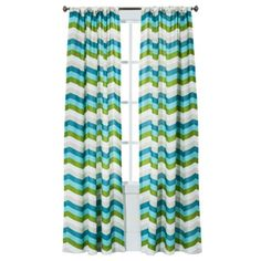 Room Essentials® Chesapeake Zigzag Window Panel Pair - (42x84)