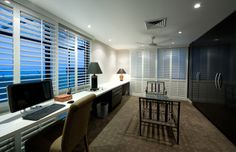 Newcastle Penthouse Alterations by Webber Architects (Newcastle AUS) #interiordesign #study