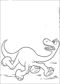 the good dinosaur coloring pages 7
