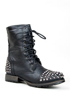 Breckelle's GEORGIA-28 Spike Combat Boot -    BUY IT FOR ME!!  My birthday is in 9 days