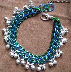 Blue and green half Persian