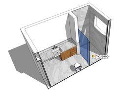 Banheiro em google sketchup marmore carrara