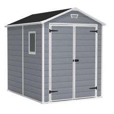 Keter Manor 6 ft. x 8 ft. Outdoor Storage Shed-213413 - The Home Depot