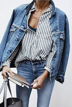 Denim with denim would have been a sin five years ago, but all that has changed now. | 23 '90s Fashions That Are Making A Comeback, Whether You Like It Or Not