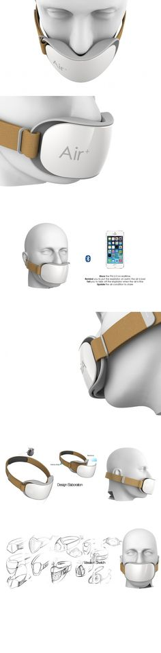 Designed for use in #urban #areas with varying air #quality, the Smart Mask takes the guess work out of knowing when to #protect yourself.