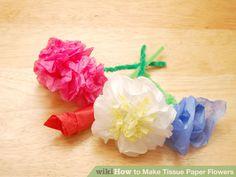 Image titled Make Tissue Paper Flowers Step 32