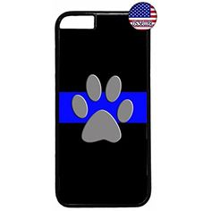 dad1507faad Deal Market LLC - Thin Blue Line Police Dog Paw-Hot NEW design Hard Rubber  Case for iPhone 7 PLUS Includes 2 screen protectors   Delivered in 8 days  ...