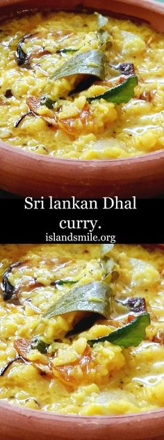 Dhal cooked in Coconut milk with sautéed Onions, Garlic, Curry leaves, Mustard seeds and chilli flecks to give flavor to this Sri Lankan favorite. gluten-free I low-carb I vegetarian I vegan.