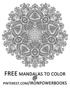 Have This FREE Mandala From Mandalas To Color