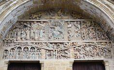 Conques - Igelsia de Santa Fe (ca. Romanesque Art, Titanic, Middle Ages, Santa Fe, Romans, Barcelona Cathedral, Finals, City Photo, Gothic