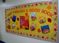 My Fall bulletin board