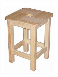 """Табурет деревянный """"КИД"""" - купить в интернет магазине, цена стульев для дачи в Ашан"""