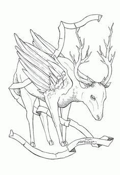 """PERITIO Projeto de ilustrações para o """"Livro dos seres imaginários"""""""