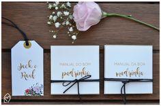 Convite dos padrinhos - todos os detalhes do convite e mimos que fiz para os padrinhos do nosso casamento #camiejacob