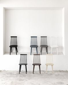 Rowico Lotta pinnatuolit Solid Wood Dining Chairs, House Doctor, Interior Design Studio, Maine House, Side Chairs, Beautiful Homes, Furniture, Annex, Windsor