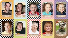 "@Jillian Ignaitis-Efishoff Make your own personalized ""Go Fish"" cards with family photos!"