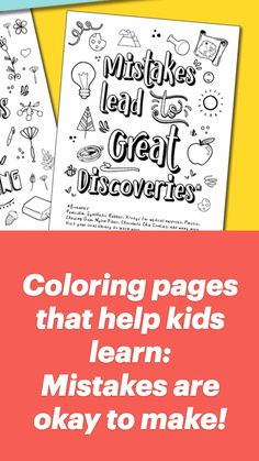 Teaching Kids, Kids Learning, Coloring Books, Coloring Pages, Self Esteem Quotes, Peaceful Parenting, Sunday School Crafts, Fun Activities For Kids, New Things To Learn