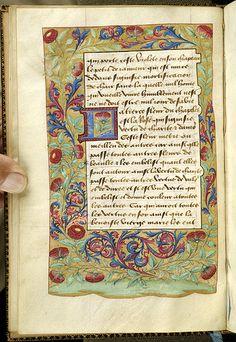 Chapelet de virginité, MS B.1 fol. 10v - Images from Medieval and Renaissance Manuscripts - The Morgan Library & Museum