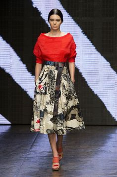 Donna Karan at New York Spring 2015