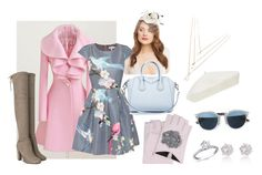"""""""бон тон"""" by re-86 on Polyvore featuring мода, Ted Baker, Forever New, River Island, Christian Dior, Karl Lagerfeld, Givenchy и Forever 21"""