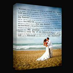 Framed vows