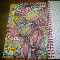 Kleurplaat Het Enige Echte Kleurboek Voor Volwassenen De Reiseditie Ingekleurd Door Joella Van