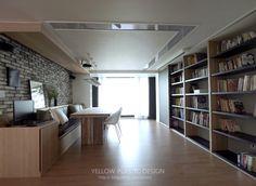 Apartment Interior, Room Interior, Interior Design, Interior Ideas, Living Room Modern, Home And Living, Study Design, Built In Wardrobe, House Goals