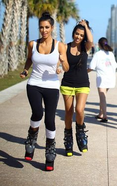 Would love to try these boots, I'm sure I'd look like a Kardashian in no time!