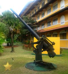 The US Army School of the Americas now the Hotel Melia Panama Canal #Panama #PanamaCanal