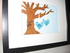 #DIY 3D Family Tree. Great for baby / wedding gifts! #pinwin #pintrial