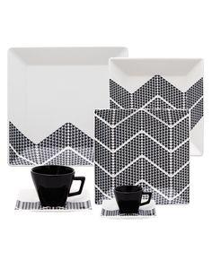 Oxford Porcelanas - Quartier Pied 42 peças