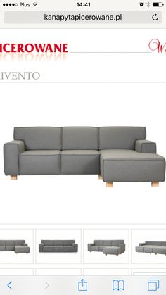 Moze sofa w tym fasonie- to jest narożnik ale oni robią tez sofy