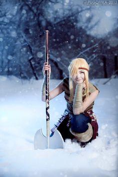 Astrid - How to Train Your Dragon by *Pugoffka-sama on deviantART