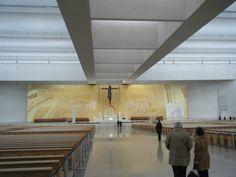Fatima, Portugal, Gold wall