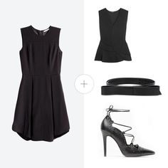 Click for outfit formulas that turn your simple LBD into something so much more