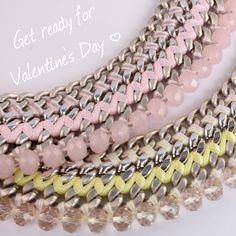 Valentine's Day is coming! #juniiqjewelry #ValentinesDay #Valentine #Valentinstag #spring #collection #sweet #pastels #pastelcolors #pastel #statement #necklace #fashion #fashionista #trend #juniiq #jewelry
