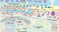 Hotels Map of Dubai consists of a detailed map of Dubai hotels and attractions, Dubai City with street names, tourist locations, shopping malls, metro stations.