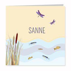 Geboortekaartje Sanne